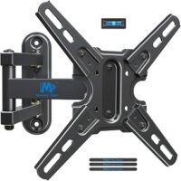 """Mounting Dream Full Motion TV Mount with Swivel and Tilt, TV Wall Mount Fits Most 13-43"""" Led, LCD TVs and Monitor up to 50 LBS and VESA 200x200mm, Articulating Arm TV Brackets for Single Stud MD2465"""